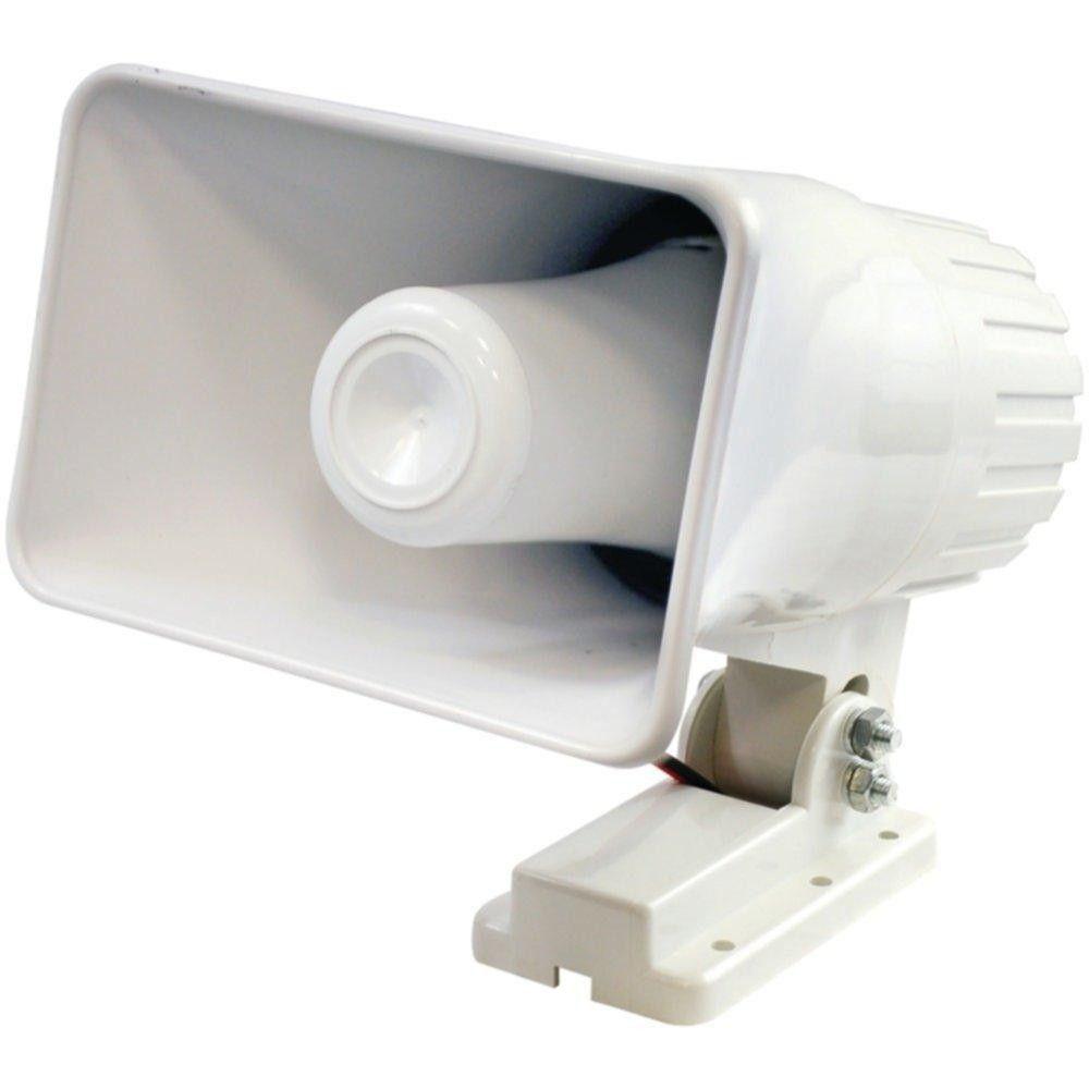 PYLE HOME PHSP4 6 Indoor-Outdoor 50-Watt PA Horn Speaker   Indoor ...