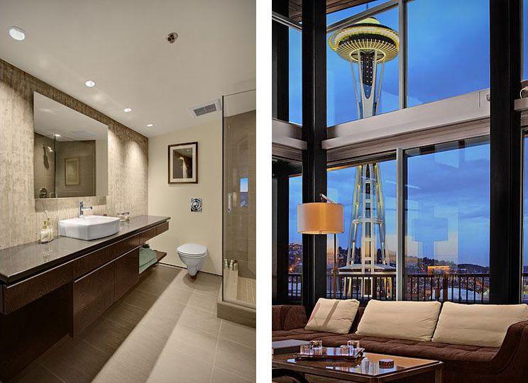 Penthouse loft in seattle