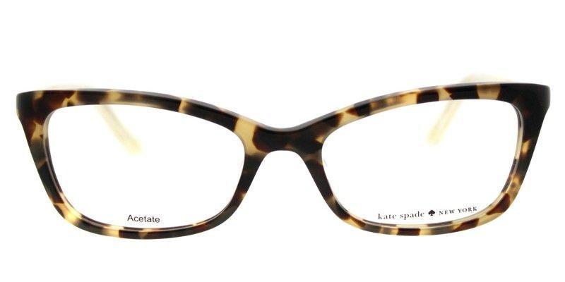 80c2e54599cc Stylish and Authentic Kate Spade KS Delacy RS3 52mm Havana Rose Eyeglasses  #stylisheyeglasses