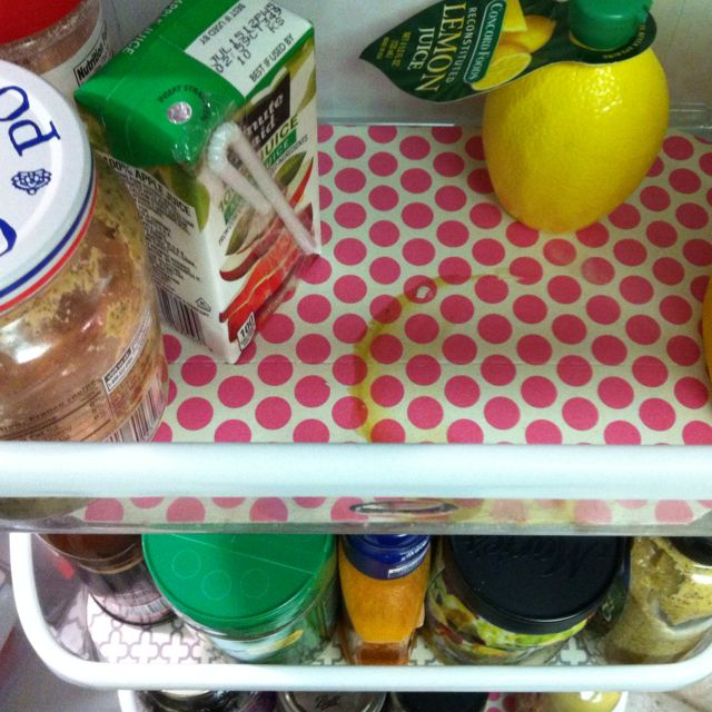 So glad Fridge Coasters absorbed this mess.  Kept me from cleaning out all my condiment bins!