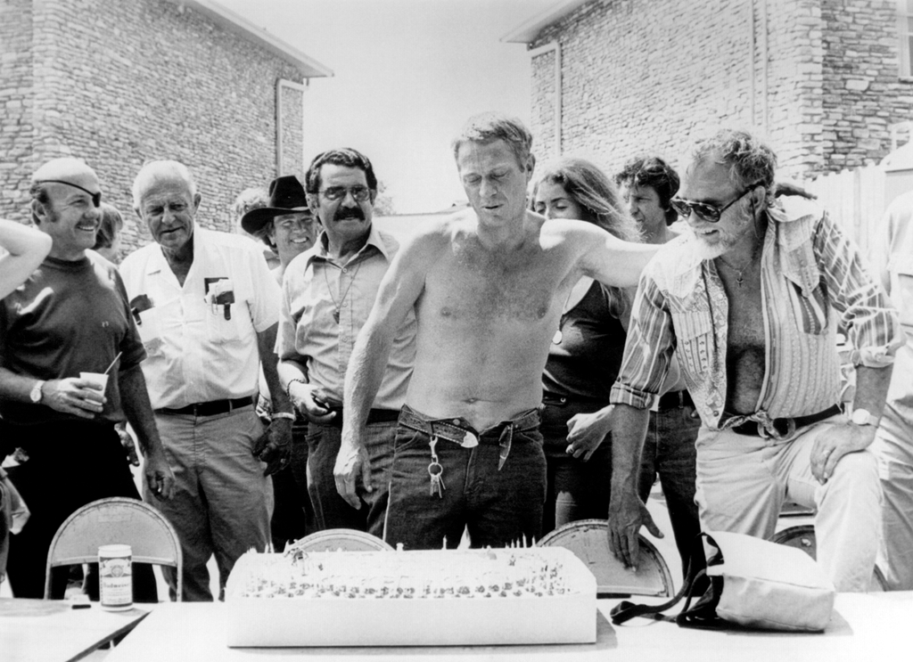 happy birthday steve Steve McQueen the coolest Pinterest