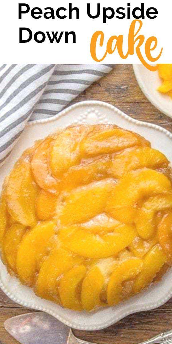Peach Upside Down Cake – An Italian in my Kitchen