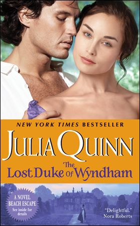 The Lost Duke of Wyndham by Julia Quinn, Polish edition Zaginiony - mr cavendish i presume