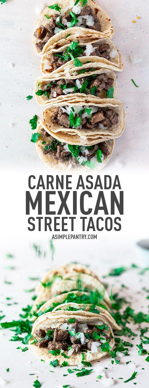 Carne Asada Mexican Street Tacos Recipe