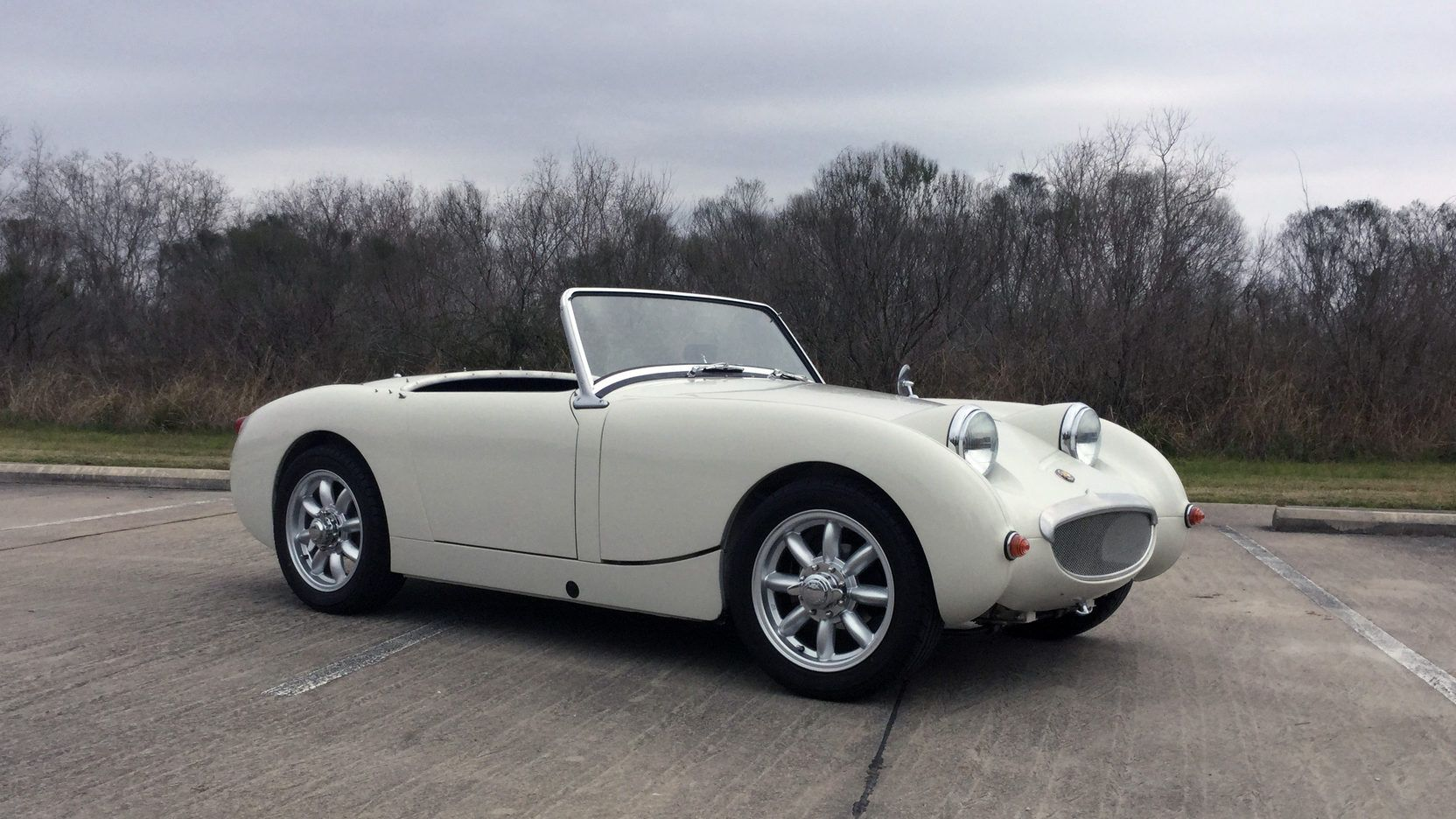 1959 Austin Healey Bugeye Sprite Presented As Lot T215 At Houston
