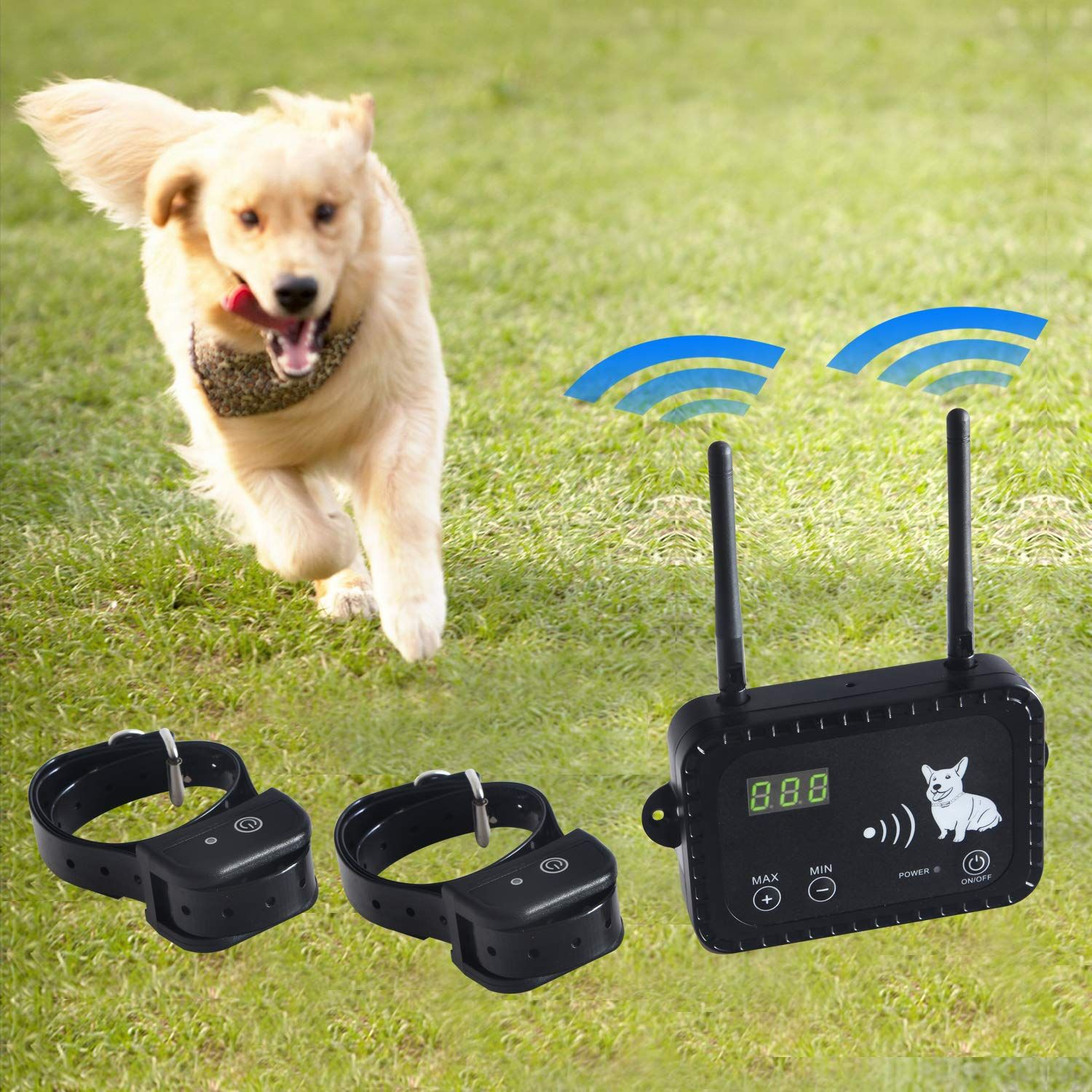 Amazon Com Wireless Electric Dog Fence Pet Containment System