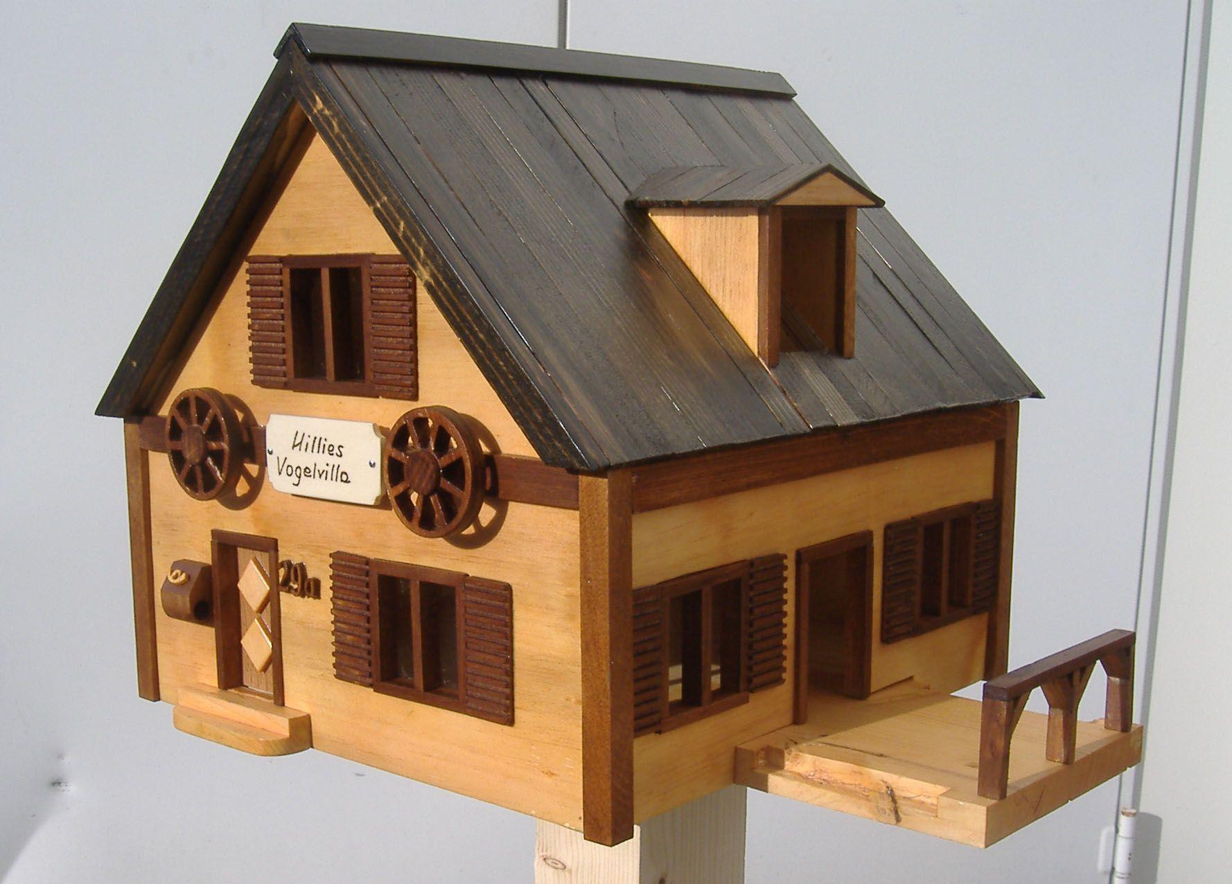 anleitung vogelhaus bauen vogelhaus futterhaus bausatz bauen kaufen die vom gelb wildlife. Black Bedroom Furniture Sets. Home Design Ideas
