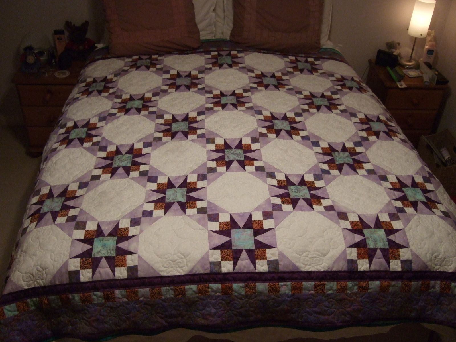 Free baby bed quilt patterns - Tennessee Waltz Quilt Examples