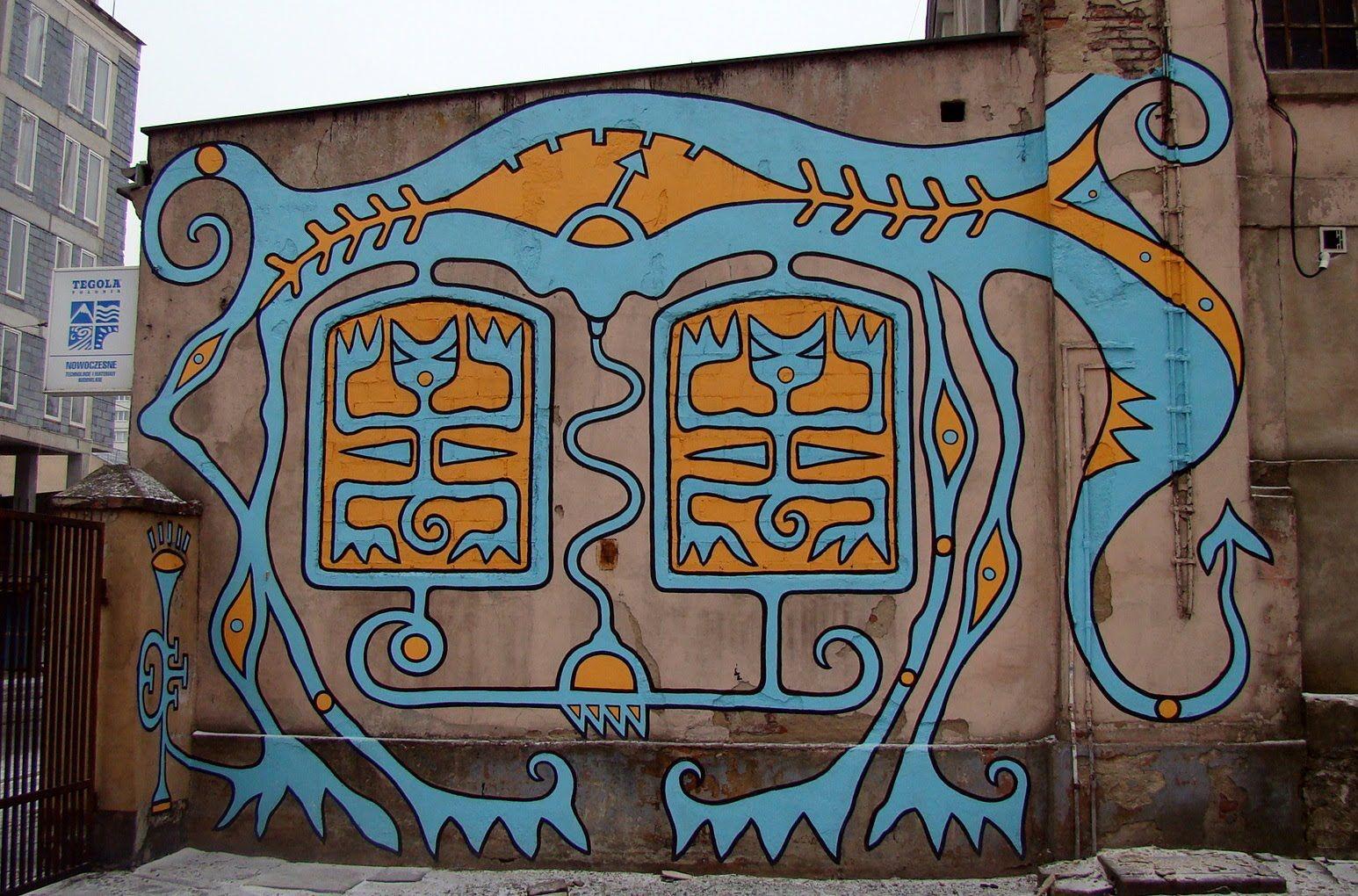 Egon Fietke Lodz Poland Lodz Street Art Lodz Poland