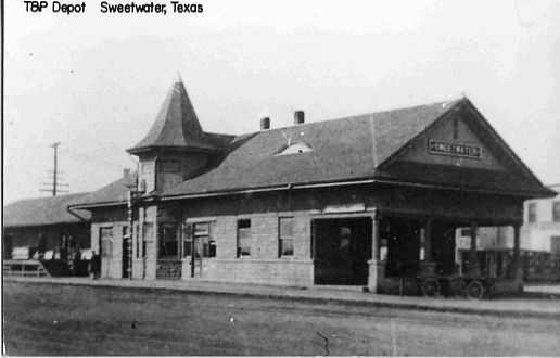 Sweetwater Tx Train Depot This Was Close To My Grandmother S