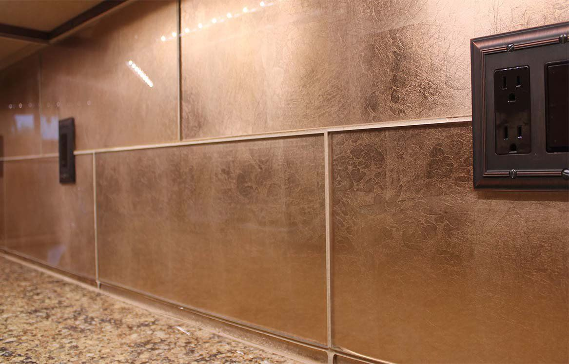 Re Vamping The Kitchen Copper Tile Backsplash Copper Tile