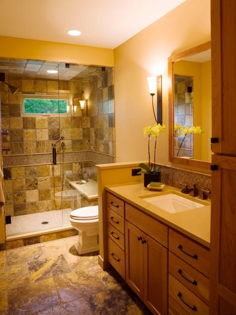 three quarter bathroom bathroom shower ...