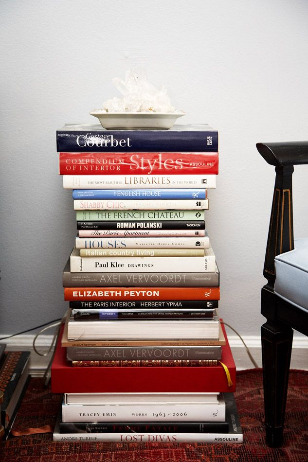15 ideas for decorating with stacks of books | decorating, book