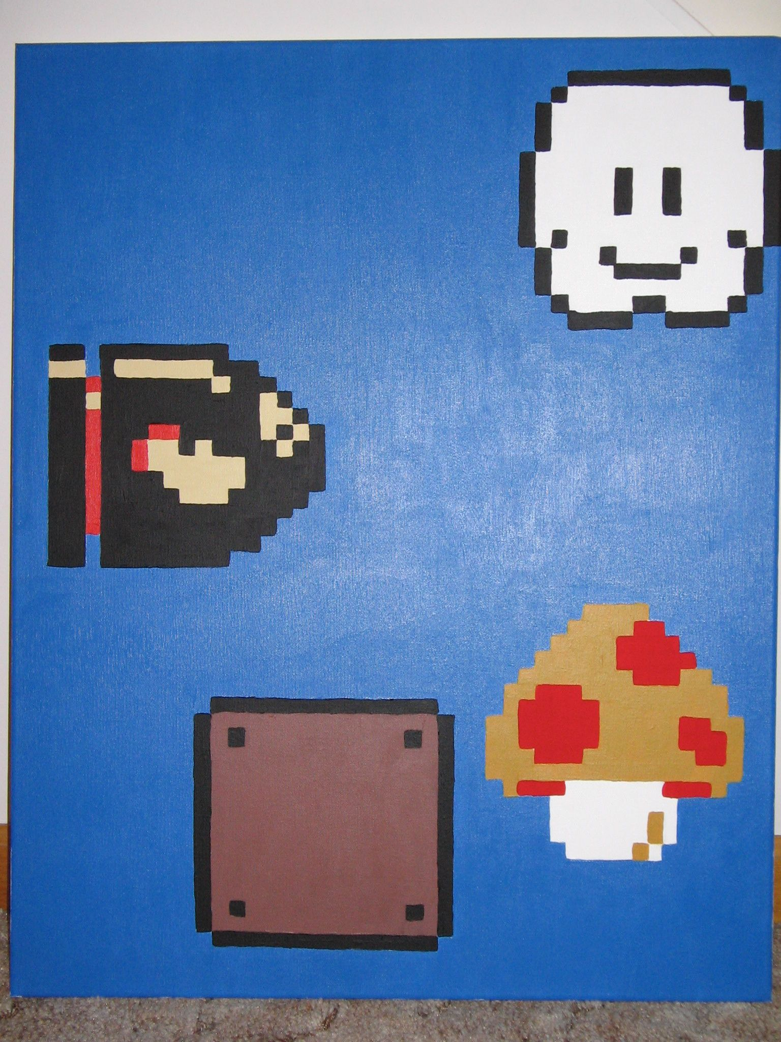 8 Bit Mario! Living Room ...