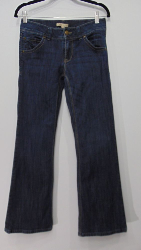 CAbi Jeans Style# 638R Flap Pockets Size 4 #CAbi #BootCut