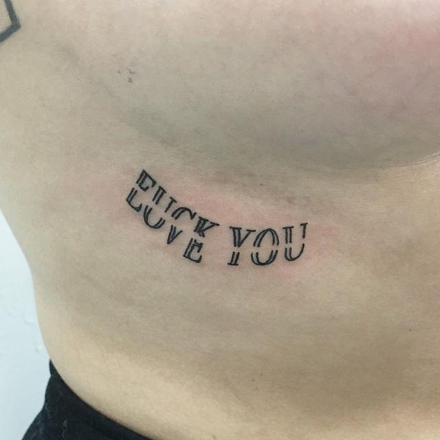 Because Love Hurts Tatuering Inspiration Tatuering Citat