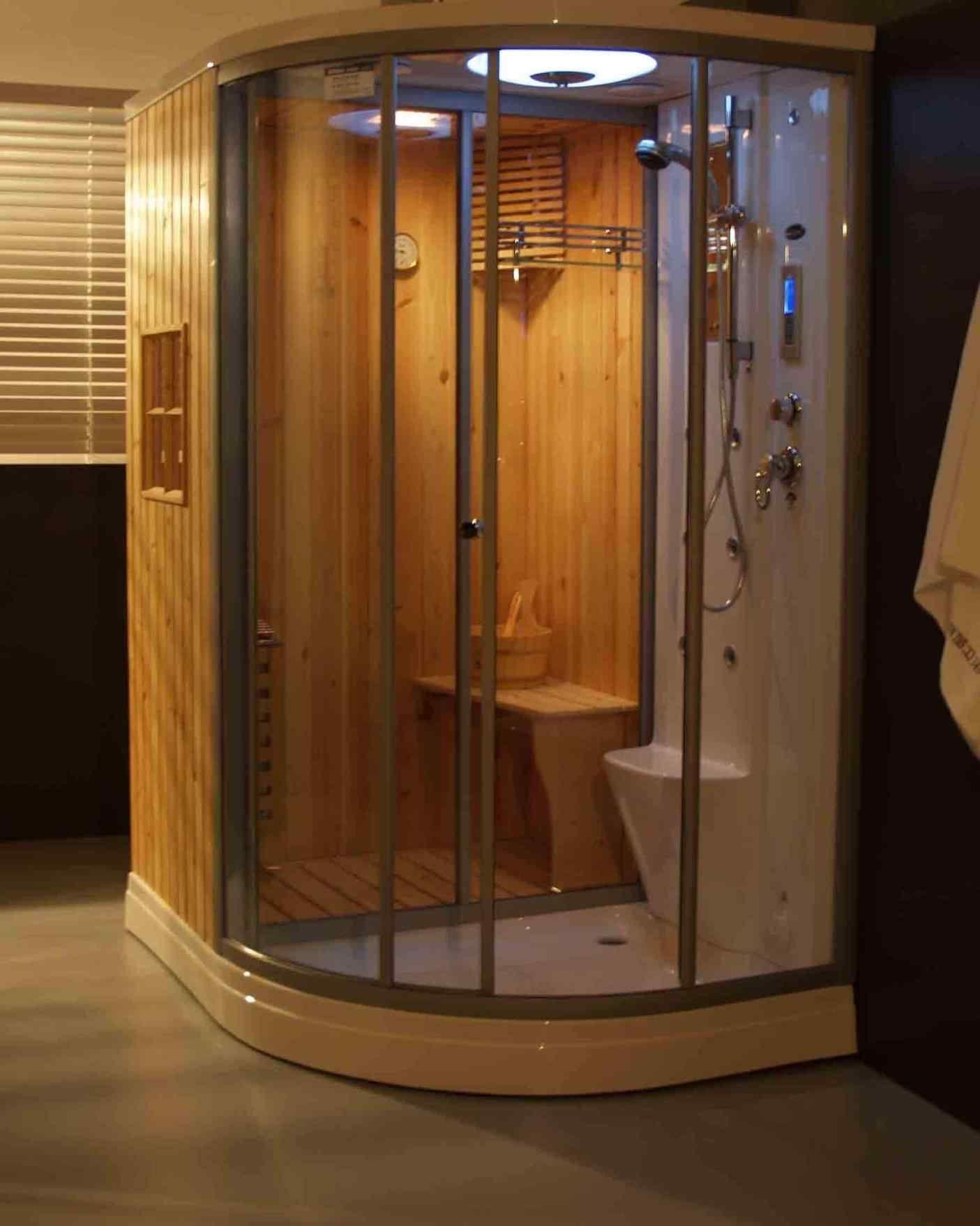 11 top and adorable steam room bathroom designs ideas interior rh pinterest com Steam Rooms Small Bathroom Home Steam Room