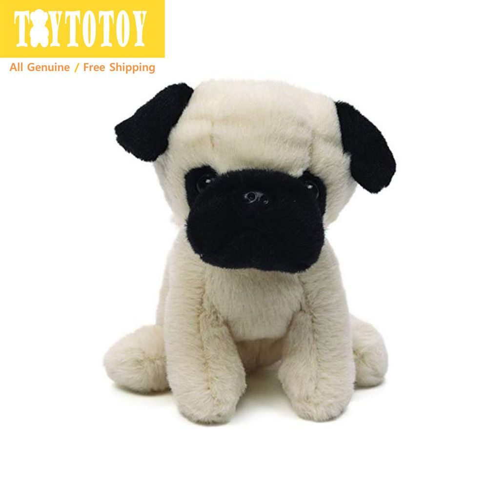 Genuine Gund 4044011 Teacup Puppies Shomossy Pug Dog Plush Toy