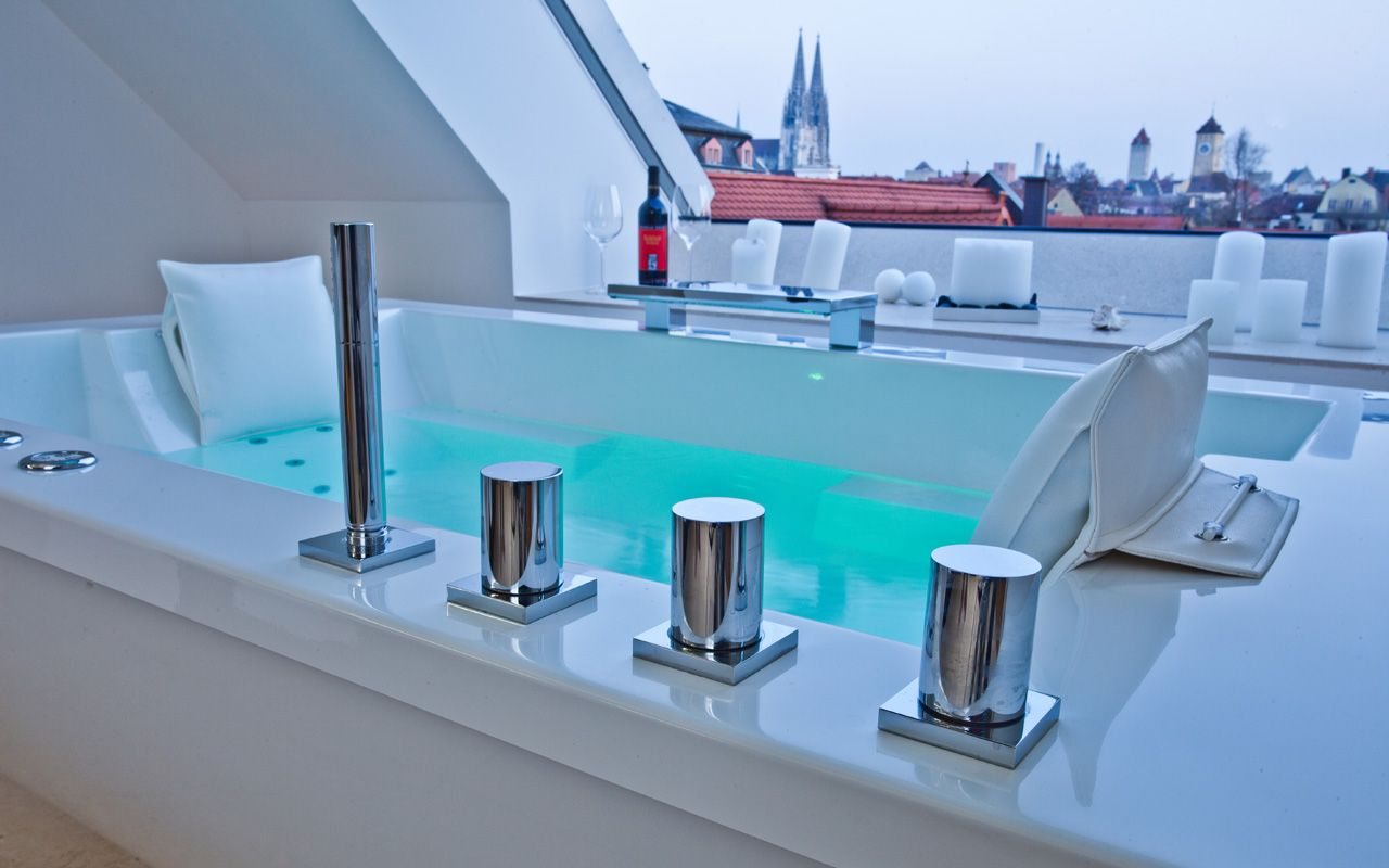 Nevobad / freistehende Badewanne / freestanding Bathtub / Mini ...