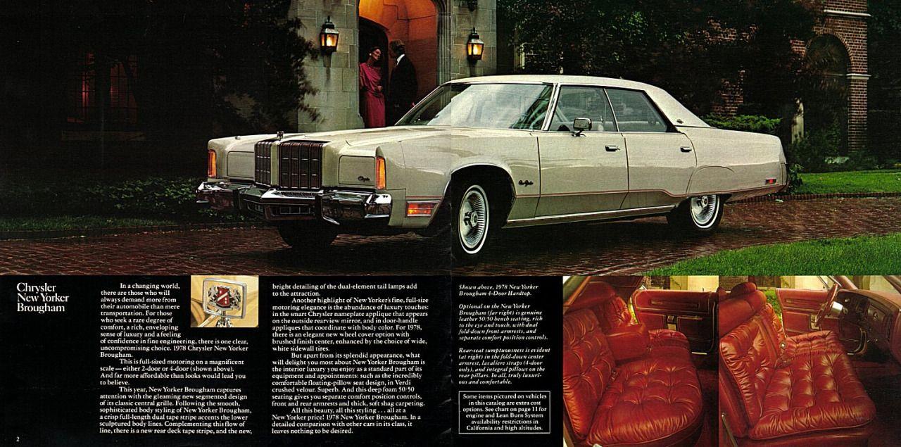 1978 Chrysler New Yorker Brougham4-Door Hardtop