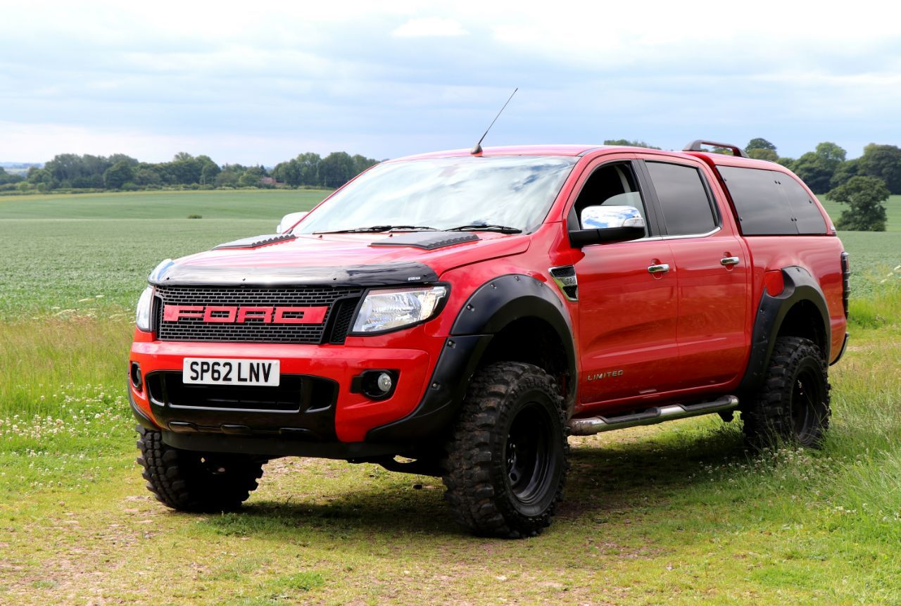 Second Hand Ford Ranger Pick Up Double Cab Seeker Raptor Red Edition Vat Q For Sale In Chesterfield Derbyshire Motorseeker Uk Ford Ranger Ranger Truck Caps