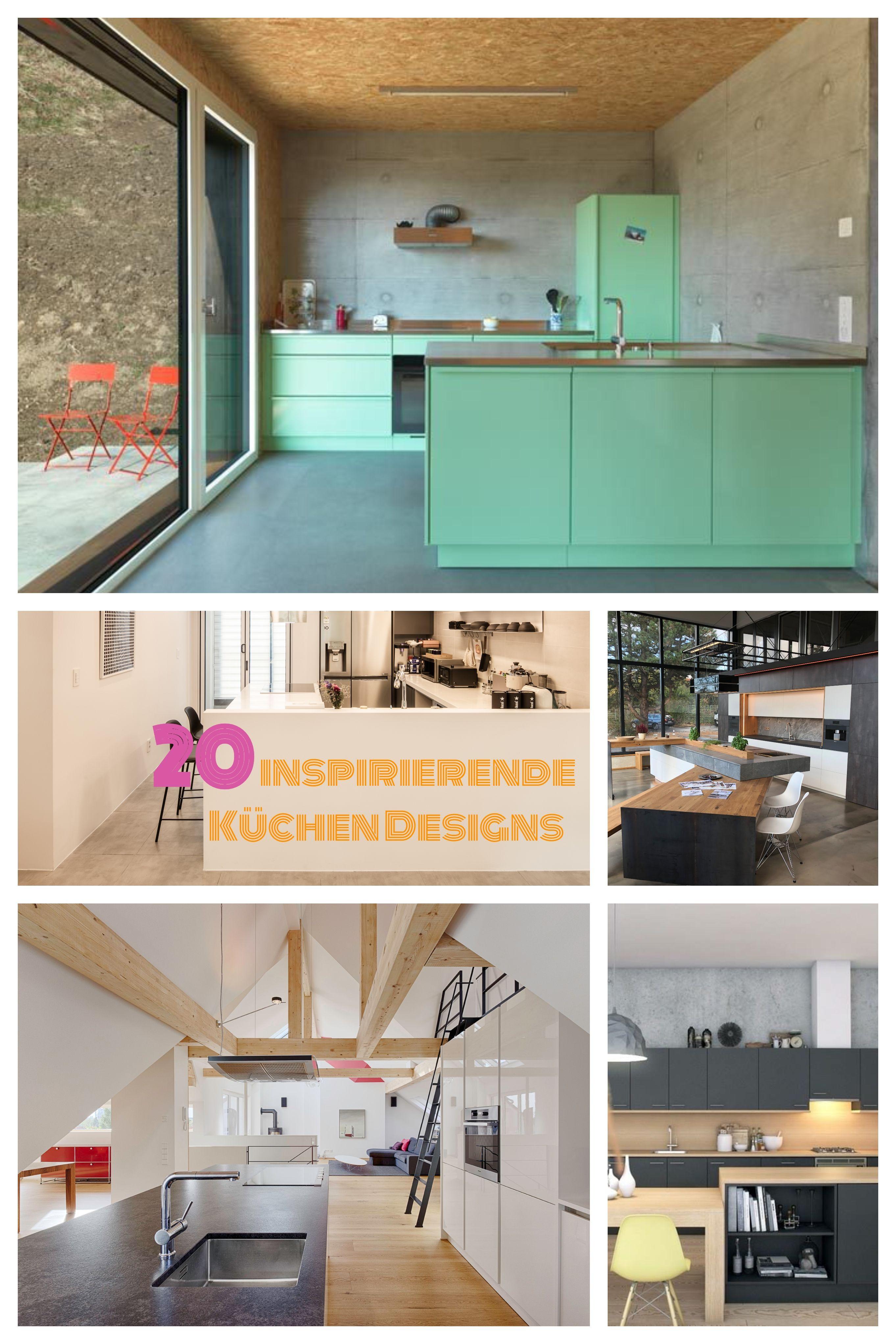 20 moderne Küchen mit Kochsinsel (mit Bildern) Moderne