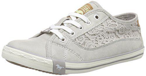 5024507, Sneakers Hautes Fille, Gris (22 Hell Grau), 35 EUMustang