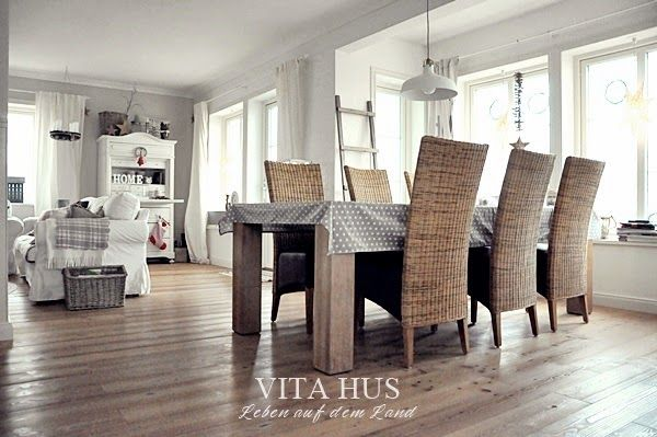Pin by Halka Kaleta on kuchnia Pinterest Living rooms and Room - skandinavischer landhausstil wohnzimmer