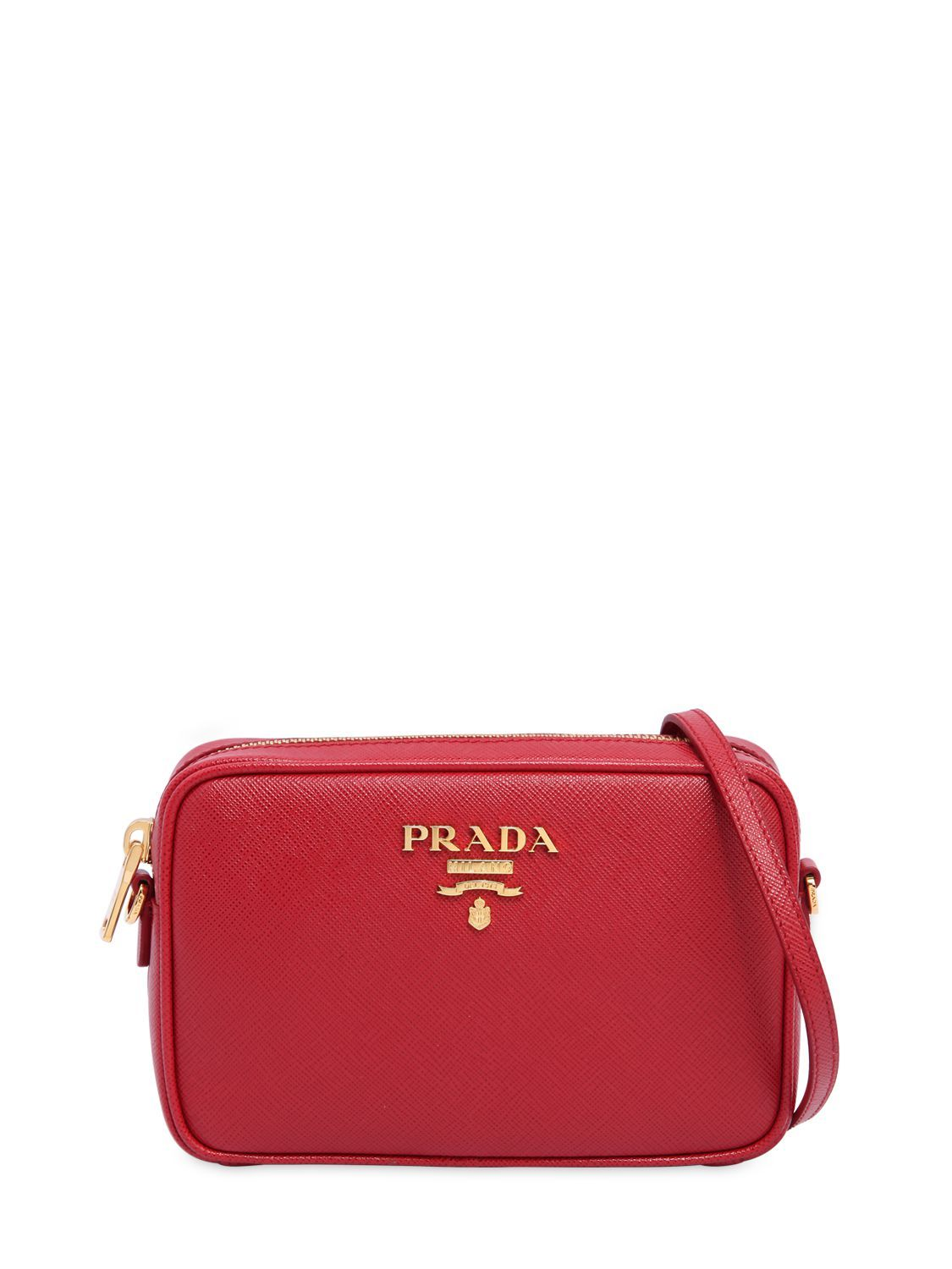 63cc0fe67979 PRADA SAFFIANO LEATHER CAMERA BAG. #prada #bags #shoulder bags #leather  #lining #