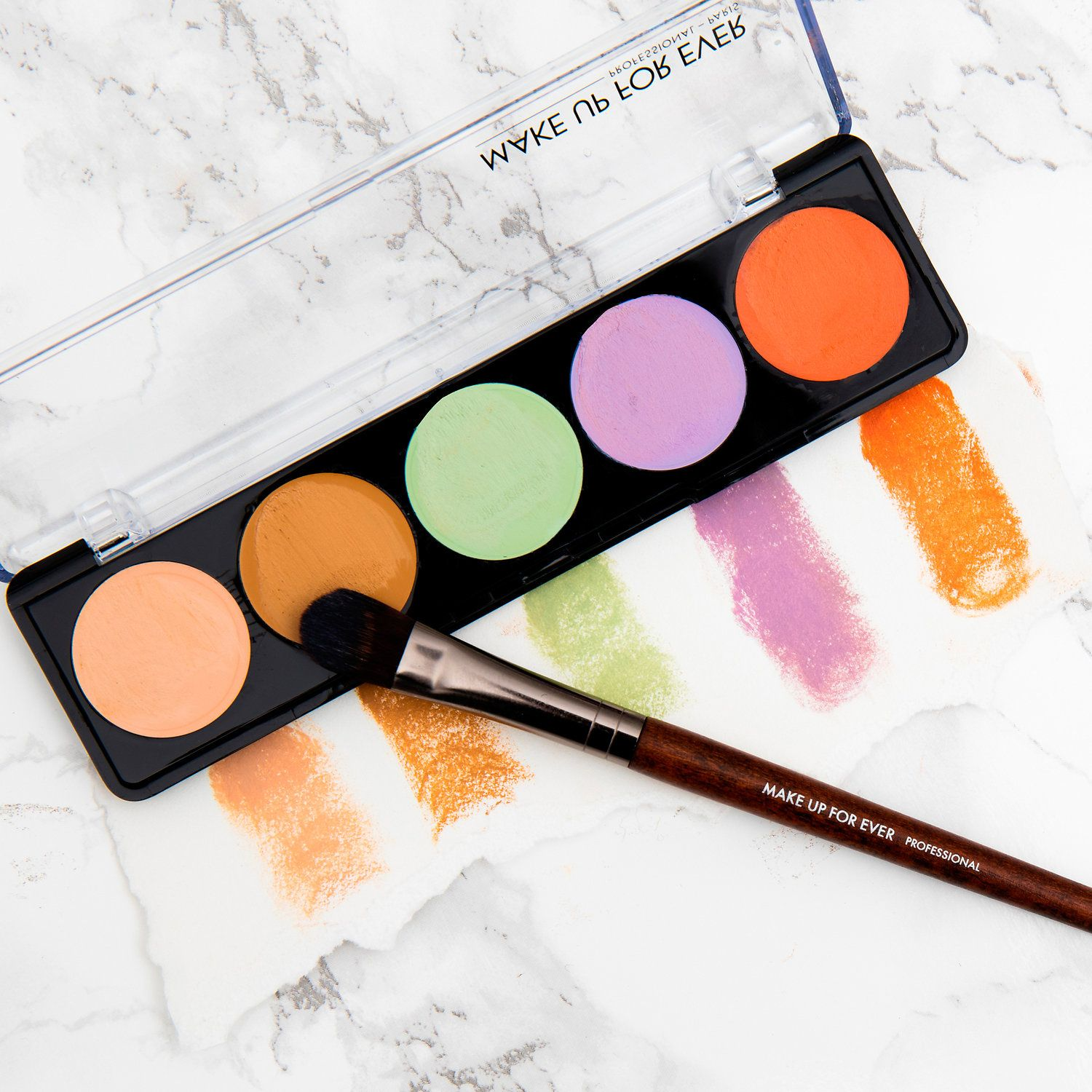 Shop MAKE UP FOR EVER's 5 Camouflage Cream Palette