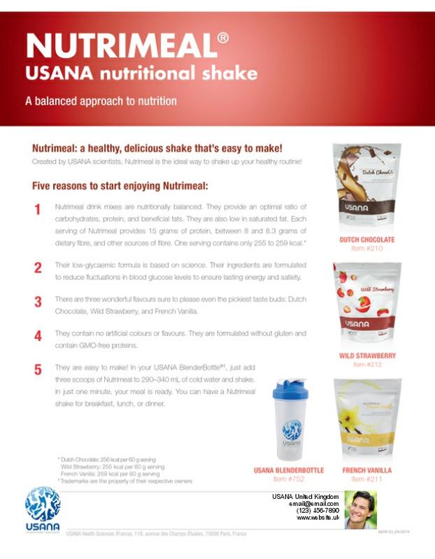 Usana Nutrimeal Usana Reset True Health 28 Days Health And Nutrition Health