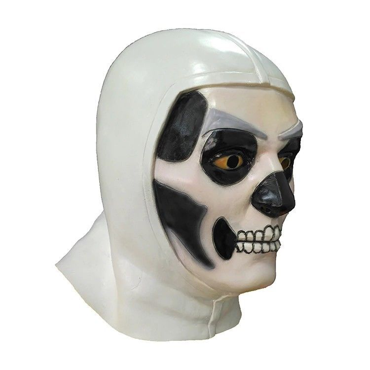 Fortnite Skull Trooper Latex Mask Vbucksninjamythtfue Halloween