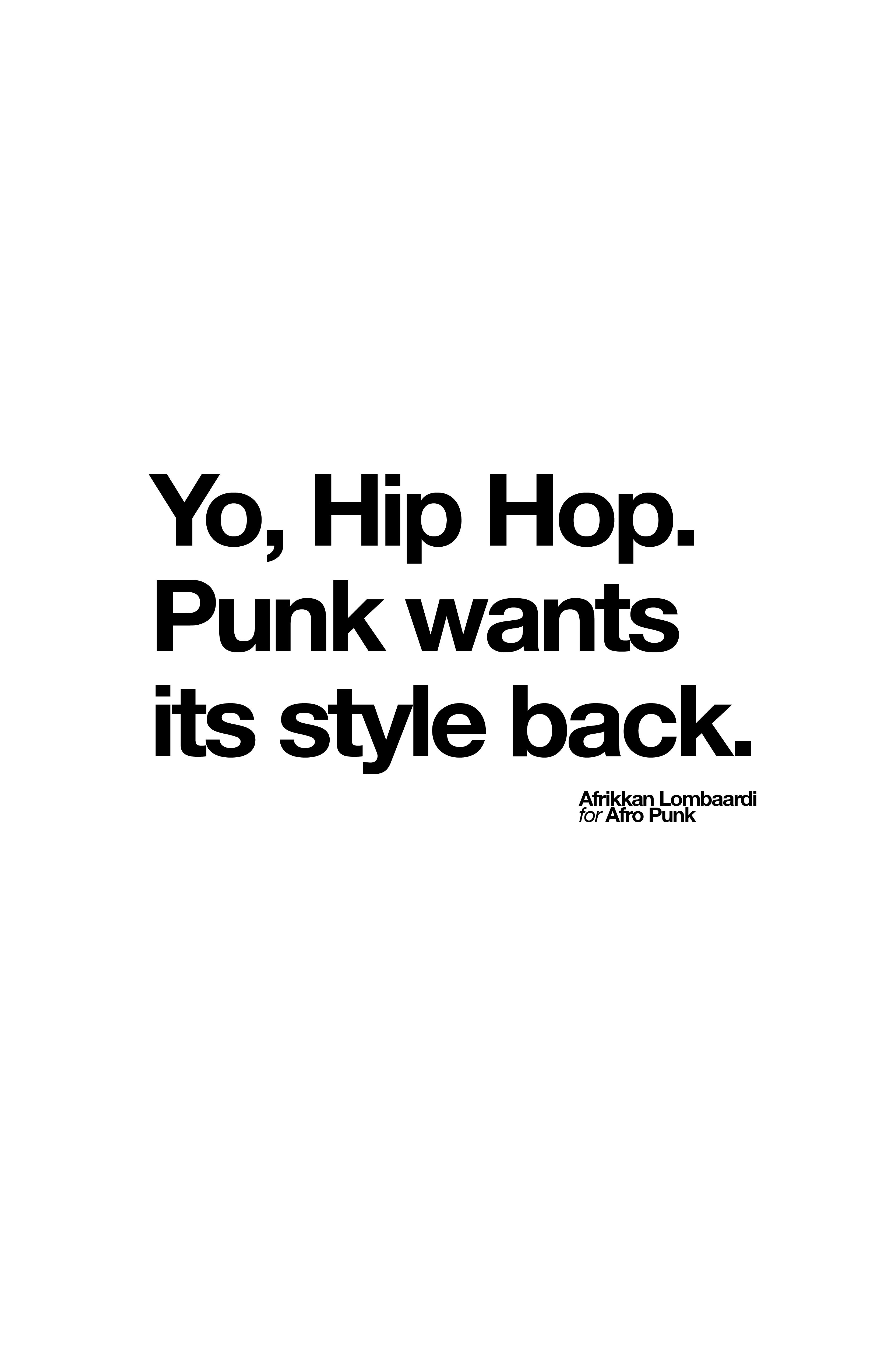 Rock and roll forever quotes quotesgram -  Type Quote Punk