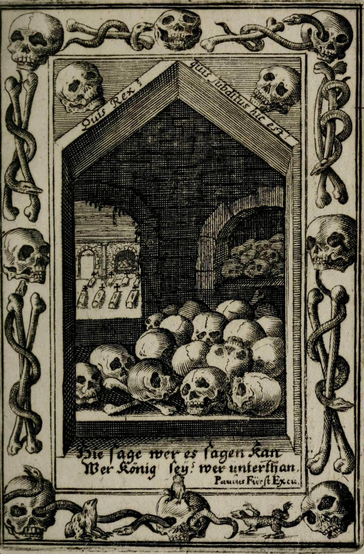 Icones Mortis Sexaginta Imaginibus by Eberhard Kieser