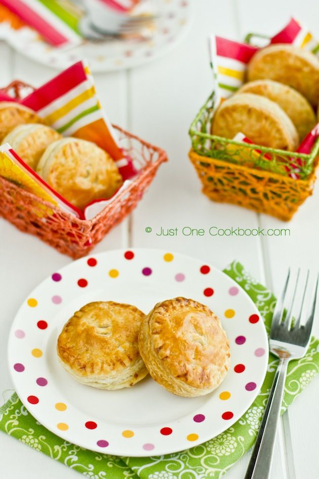 Tandoori Chicken Puffs