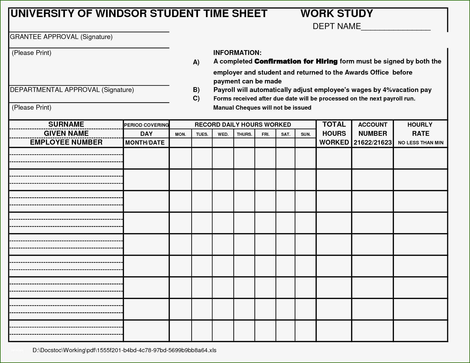 Exquisite Time Study Template Excel You'll Want to Copy