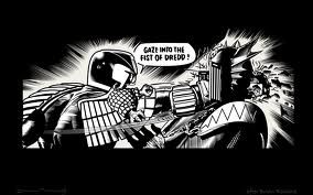 Google Image Result for http://i127.photobucket.com/albums/p147/the_legendary_shark/2000AD%2520PC%2520Wallpapers/gaze_into_the_fist_of_dredd_1440x90.jpg