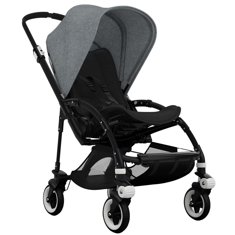 bugaboo bee3 stroller black black grey melange laurinka pinterest bugaboo bugaboo. Black Bedroom Furniture Sets. Home Design Ideas