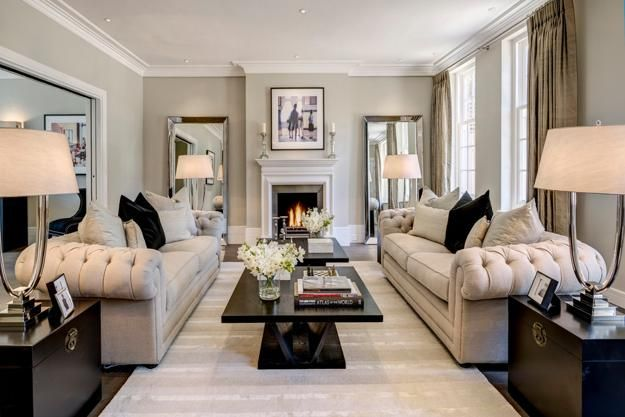 Modern Living Room Design 22 Ideas For Creating Comfortable Living Rooms Chesterfield Sofa Living Room Classic Living Room Living Room Design Modern