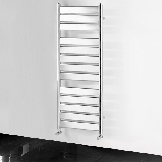 The Best Way To Heat Your Towel And Heat Your Bathroom At The Same Time Plus It Has A Stunning Design With A Chrome Heated Towel Heated Towel Rail Towel Rail