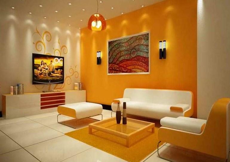 Warna Cat Interior Rumah Yang Bagus Warna Ruang Tamu Interior