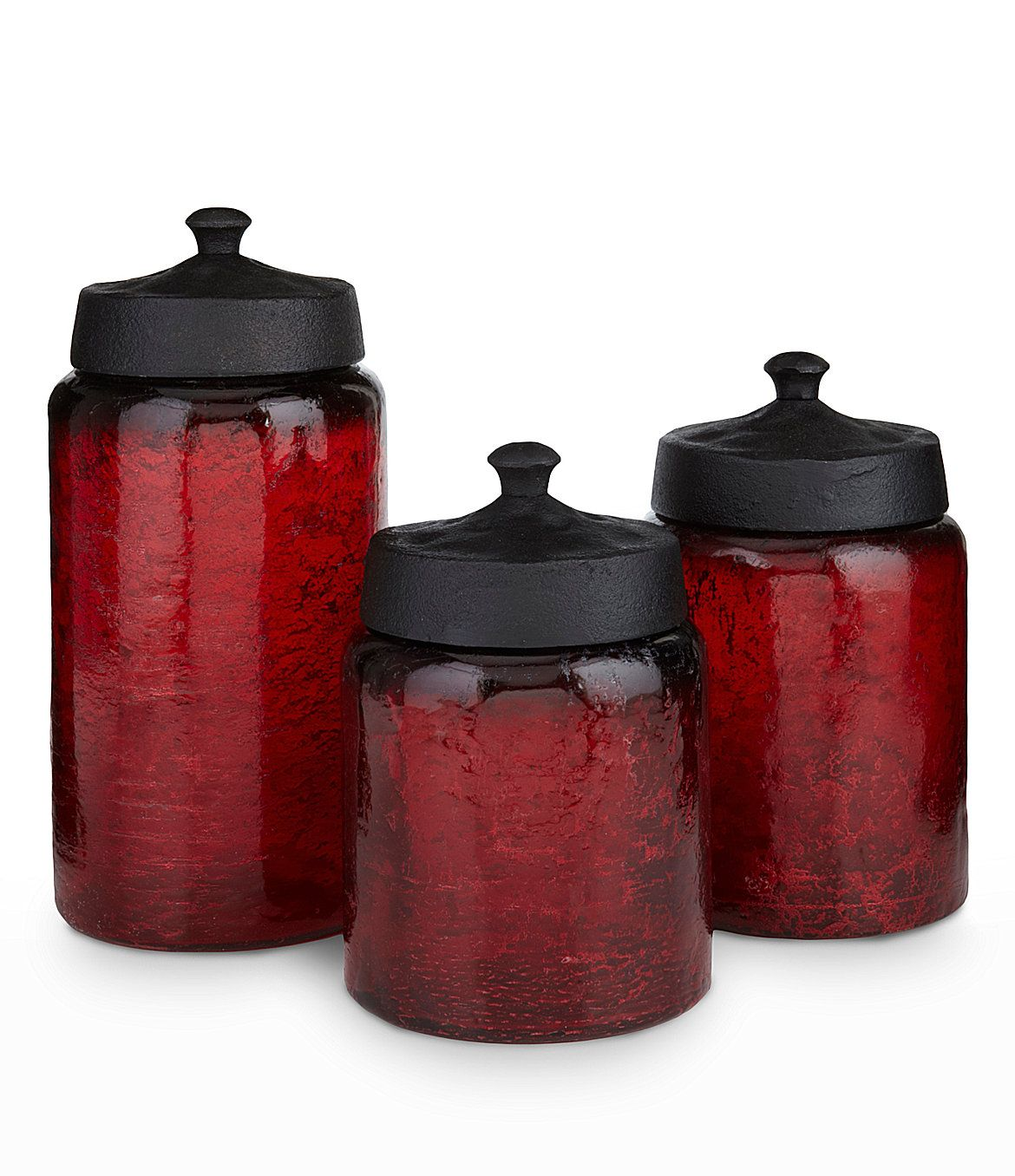 kitchen glass canisters with lids artimino red glass canisters with metal lid a house pinterest glass canisters metals and 5313