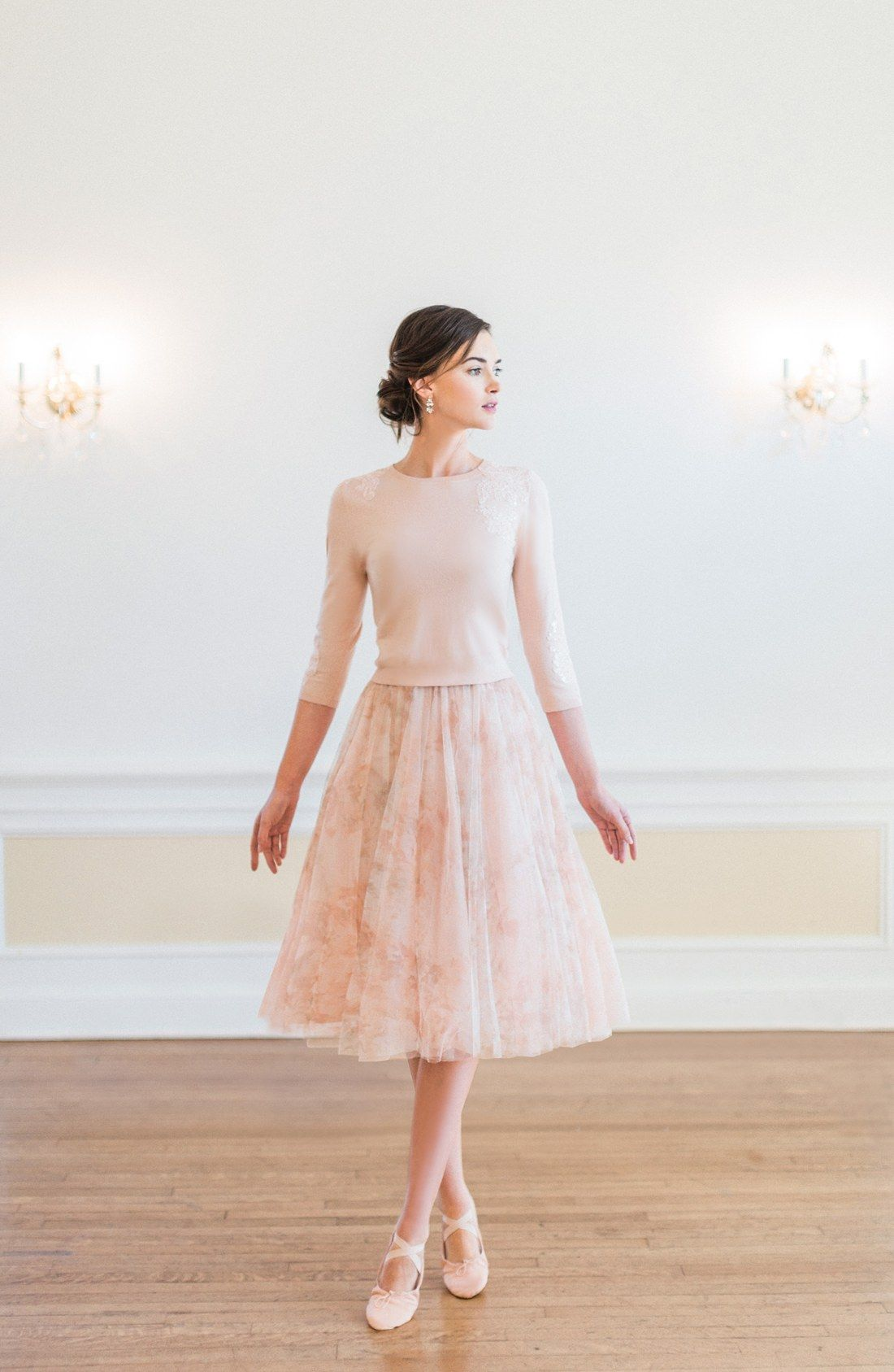 6094fc0c110b Jenny Yoo  Lucy  Print Tulle Skirt