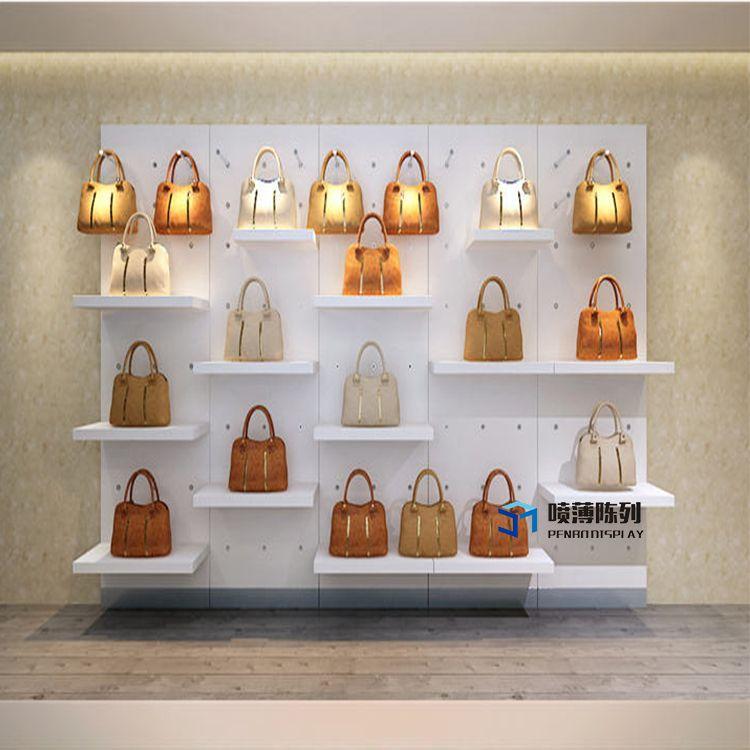 Wooden Simple Design Brand New Bag Store Design Bagstoredesign