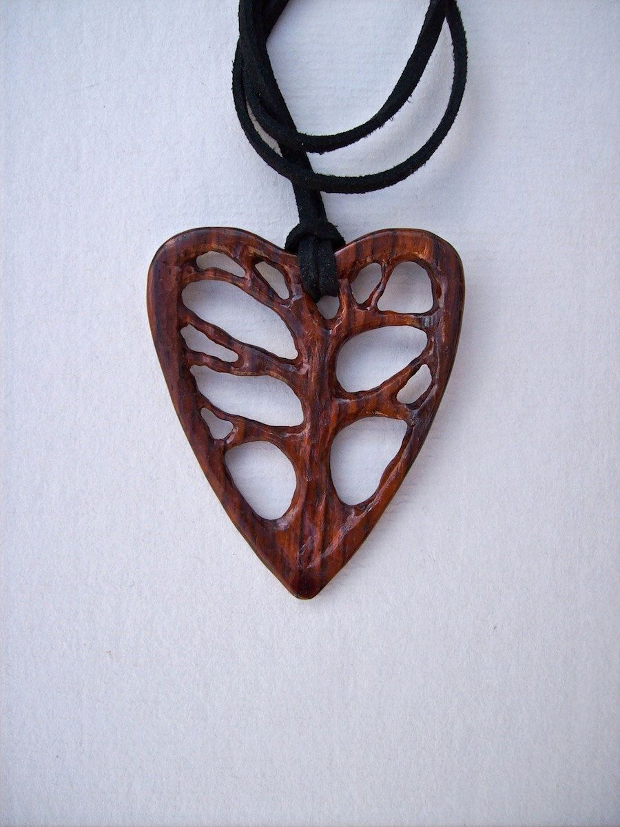 Wood carved pendant tree of life pendant wood jewelry cocobolo wood carved pendant tree of life pendant wood jewelry cocobolo wood pendant heart pendant handmade pendant wooden jewelry mozeypictures Images