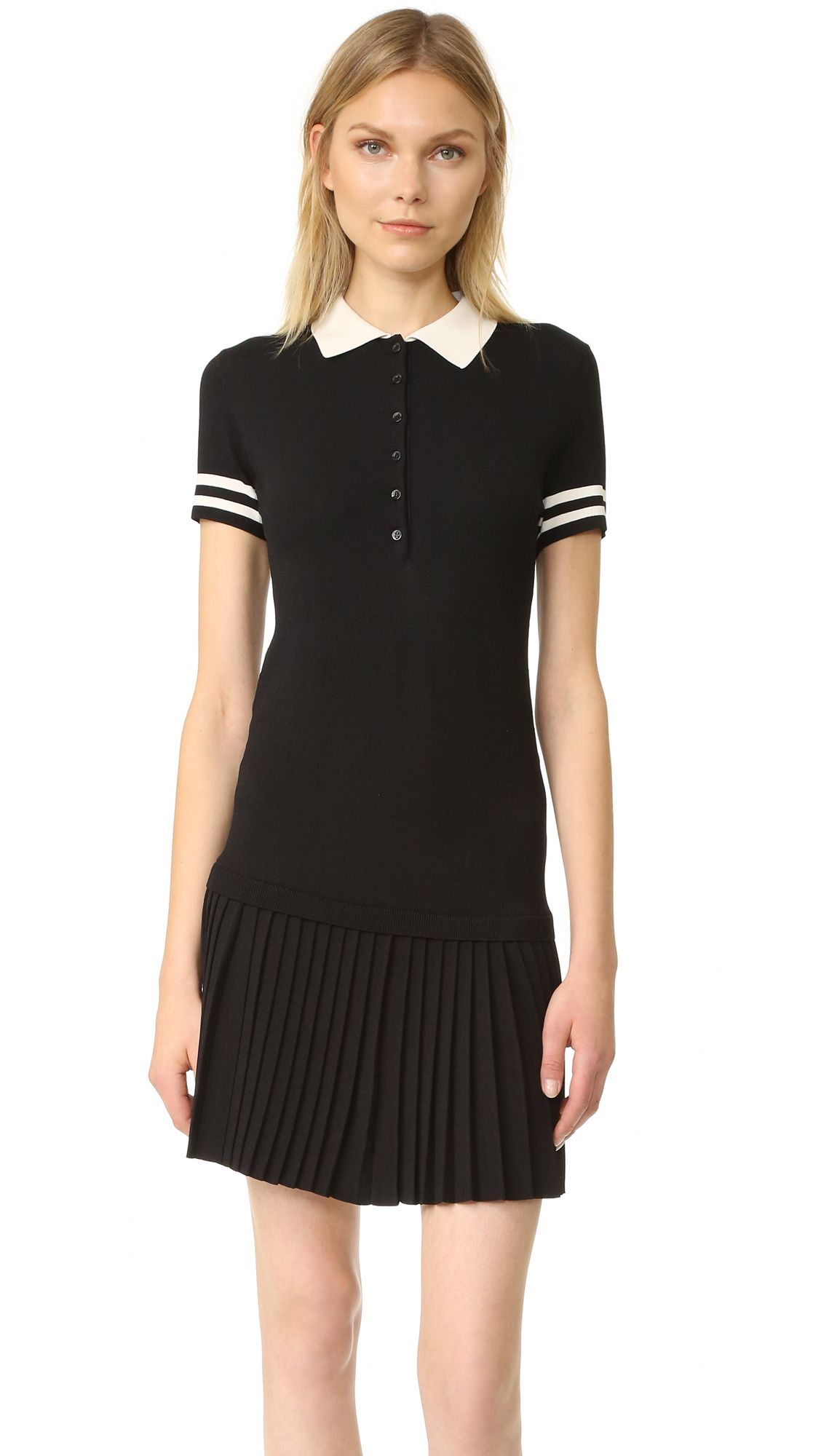 c4824075584 Buy it now. Red Valentino Polo Dress - Black Cream. A RED Valentino ...