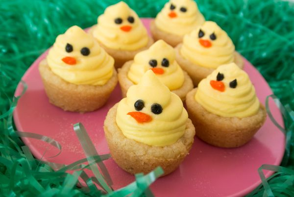 Easter Chicks with Lemon Mousse from @Smart Cookie Cook