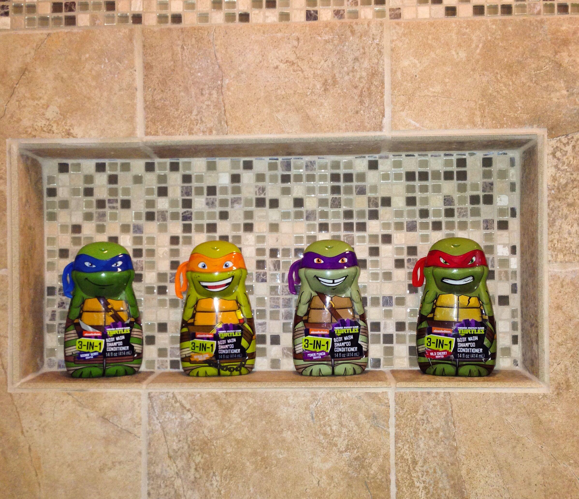 Teenage Mutant Ninja Turtle Bath & Shower gels