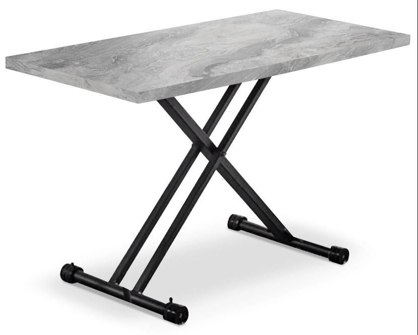 Table Basse Relevable Effet Marbre Markis Lestendances Fr En 2020 Table Basse Relevable Table Basse Table Basse Modulable
