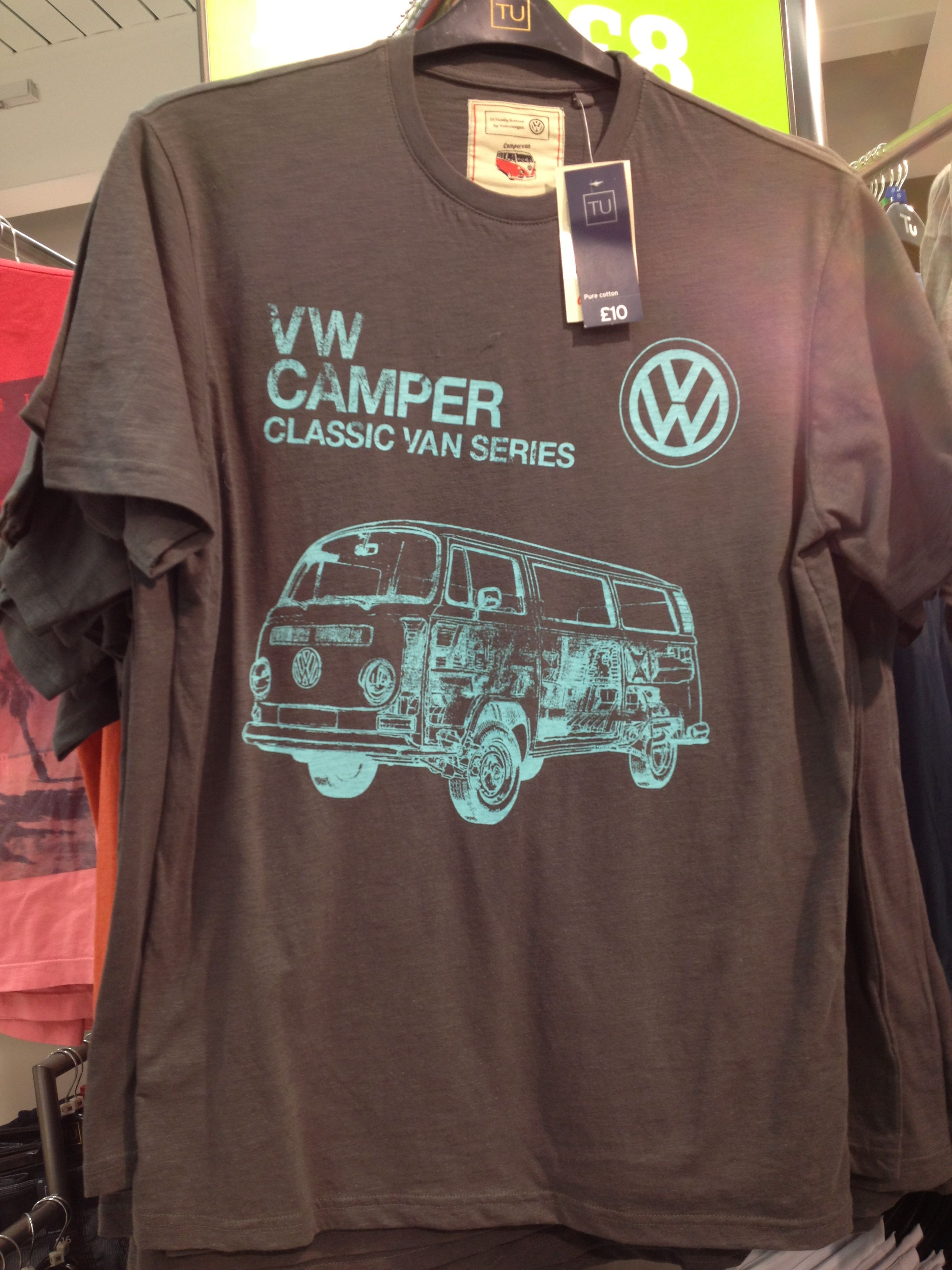 Vw Campervan T Shirt At Sainsburys Combinaciones De